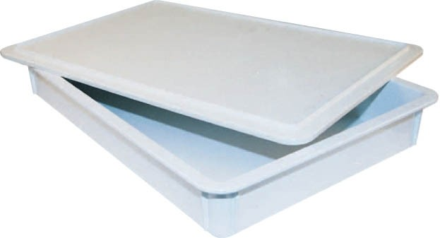 Plastic Cover For 3/6 Deep Dough Box - 18-1/2 X 26