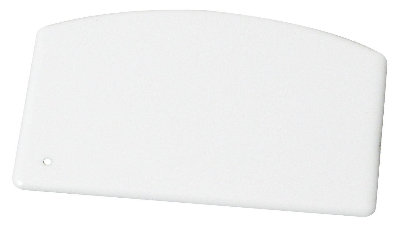 Plastic Dough Scraper 5 1/2 X 3 3/4