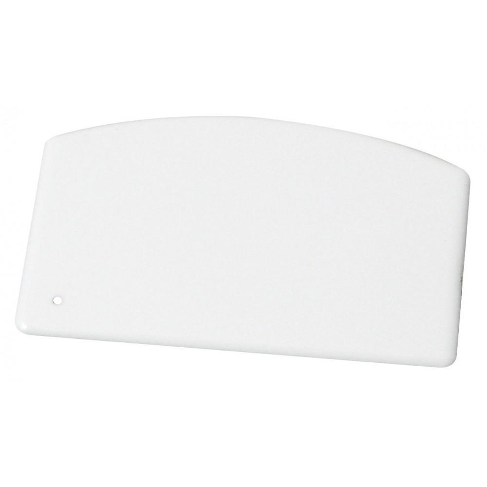 """Winco PDS-5 Plastic Dough Scraper 5 1/2"""" x 3 3/4"""""""