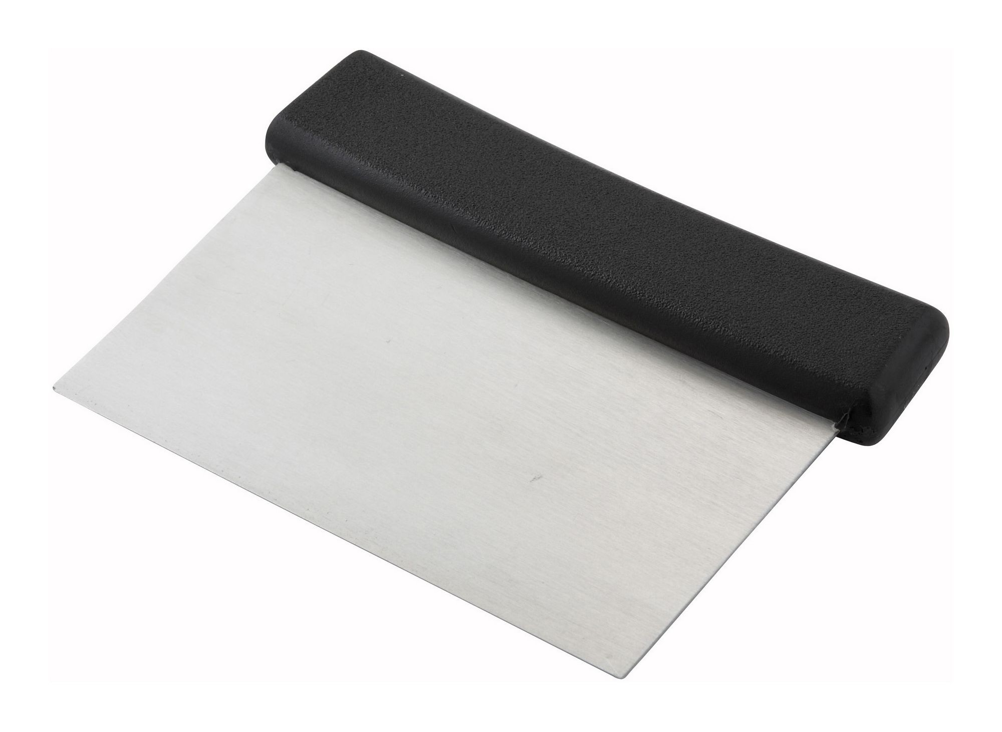 Stainless Steel Dough Scraper with Plastic Handle