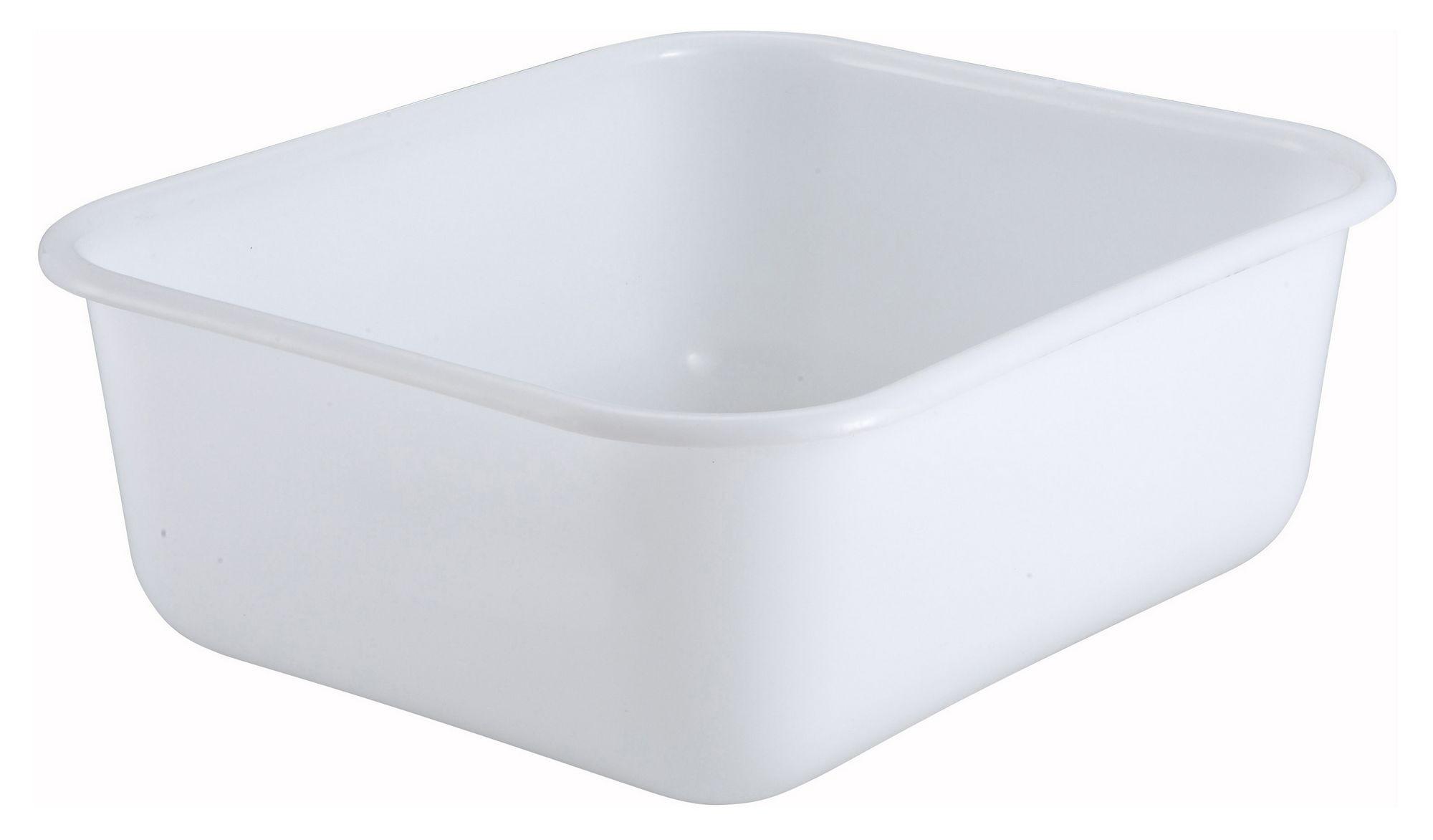 Plastic Mini Bin Tote Box - 14-1/2 X 12-3/4 X 5 (Lid not included)