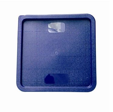 Plastic Square Cover For 12 Qt & 18 & 22 Qt Blue