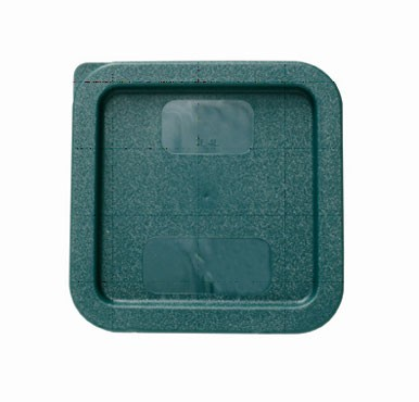 Plastic Square Cover For 2 Qt & 4 Qt Green