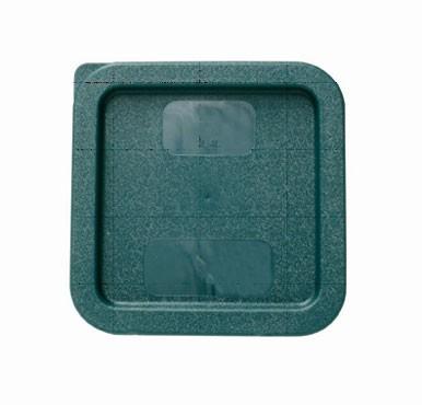 Thunder Group PLSFT0204C Green Plastic Cover for 2 Qt. & 4 Qt.