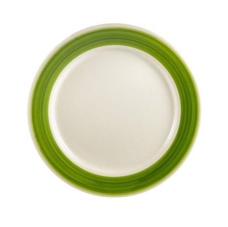 "CAC China R-8-G Rainbow Green Plate 9"""