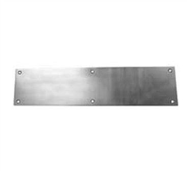 Franklin Machine Products  134-1141 Plate Kick (Stainless Steel, 8 x 34 )
