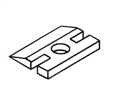 Franklin Machine Products  187-1040 Plate Strike (Door Catch)
