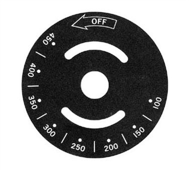 Franklin Machine Products  228-1199 Plate Temp Dial (100-450F)