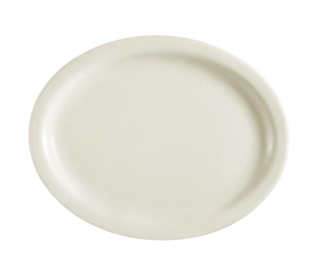"""Yanco NR-13 Normandy 11-1/2"""" Oval Platter"""