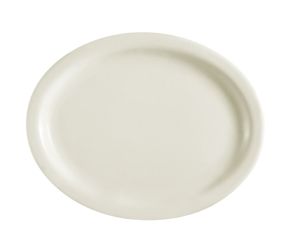 Platter - American Ivory, Narrow Rim China (8.75
