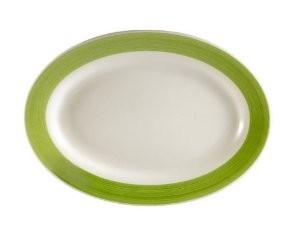 Platter (Green) , 9 3/8