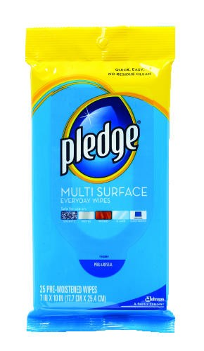 Pledge� Multi-Surface Clean & Dust Wipes