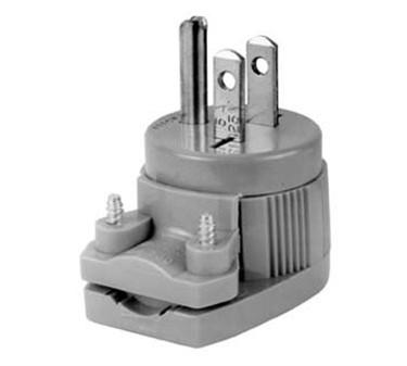 Franklin Machine Products  253-1201 Plug, Angle (120V, 15A, 5-15P)