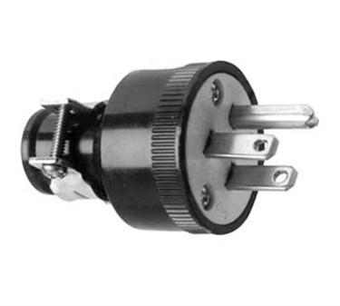 Franklin Machine Products  253-1203 Plug, Male (120V, 15A, 5-15P)