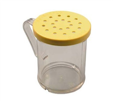 Franklin Machine Products  247-1178 Polycarbonate 10 oz. Grated Cheese Shaker & Lid