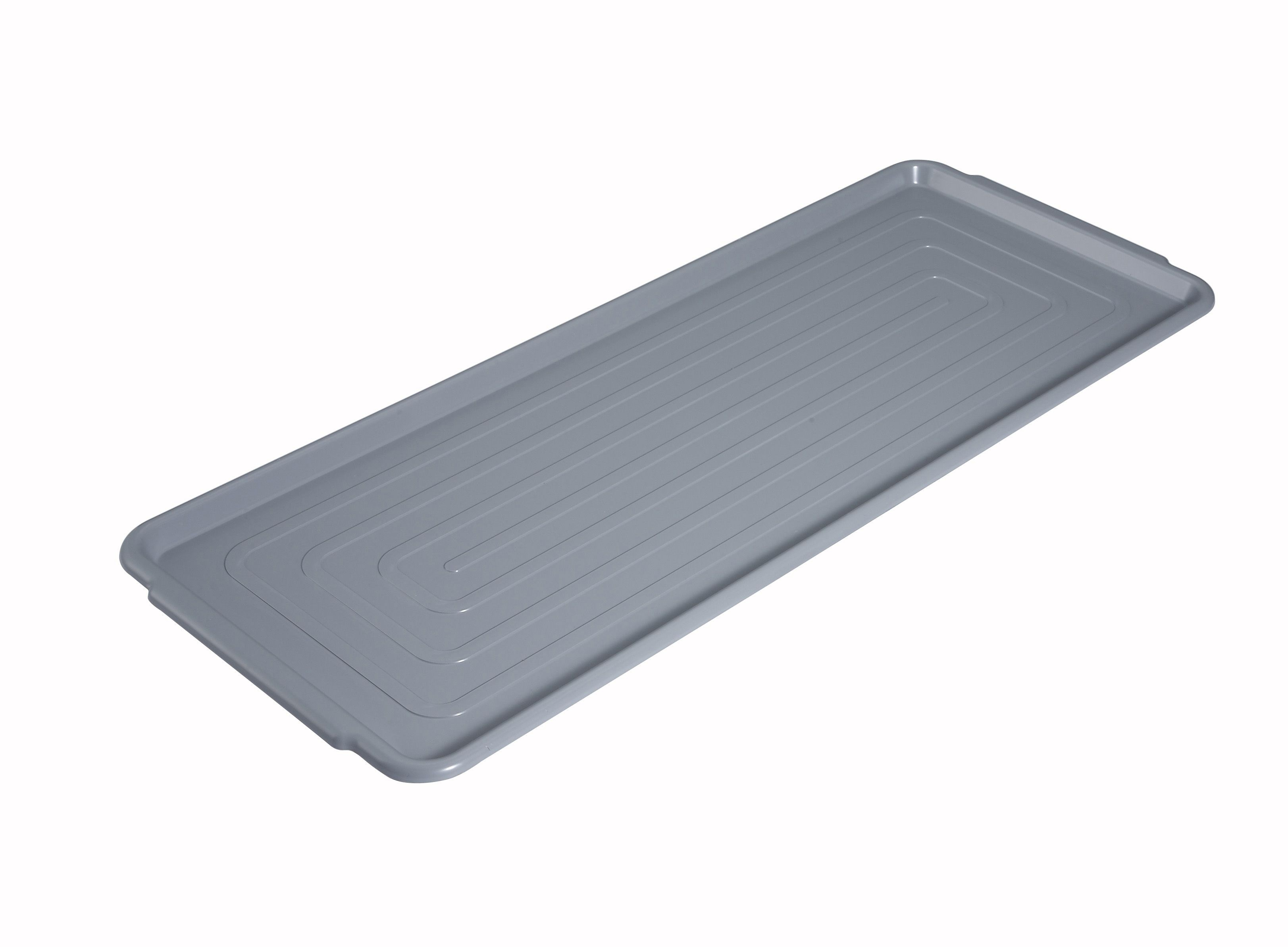 Polycarbonate Market Tray 12 X 30Grey