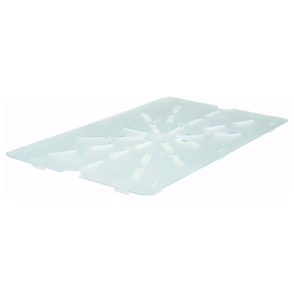 Polycarbonate NSF Full-Size Drain Shelf