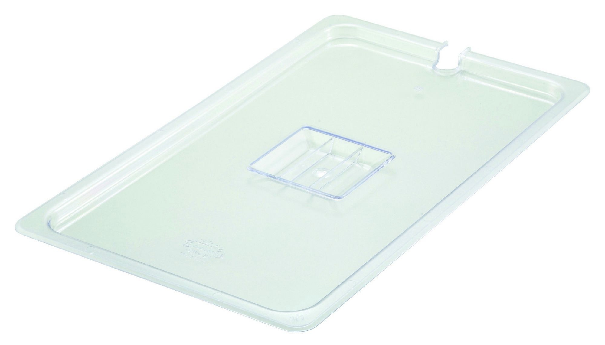 Winco SP7100C Poly-Ware Full-Size Food Pan Slotted Cover