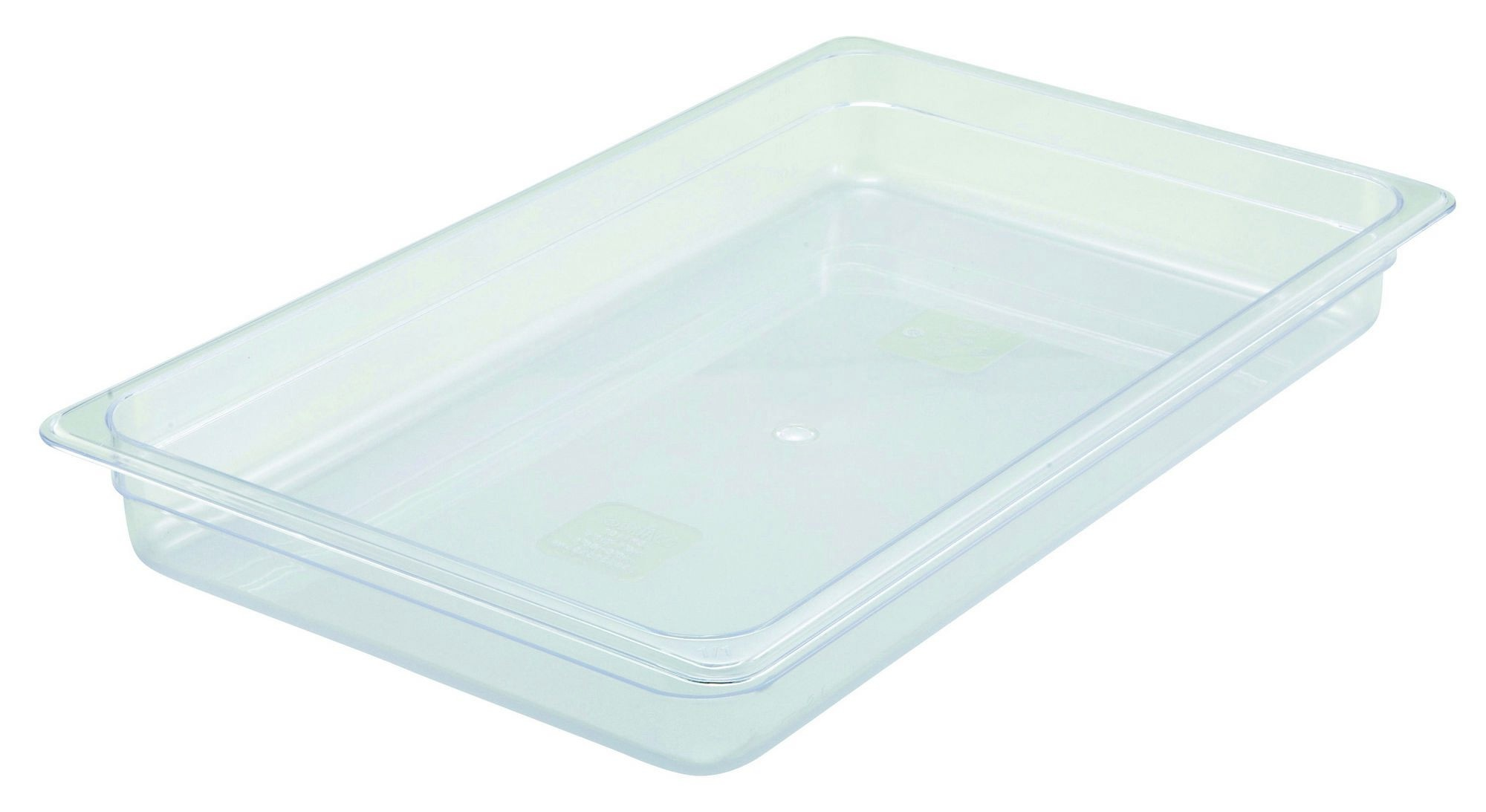 "Winco SP7102 Poly-Ware Full-Size Food Pan 2-1/2"" Deep"