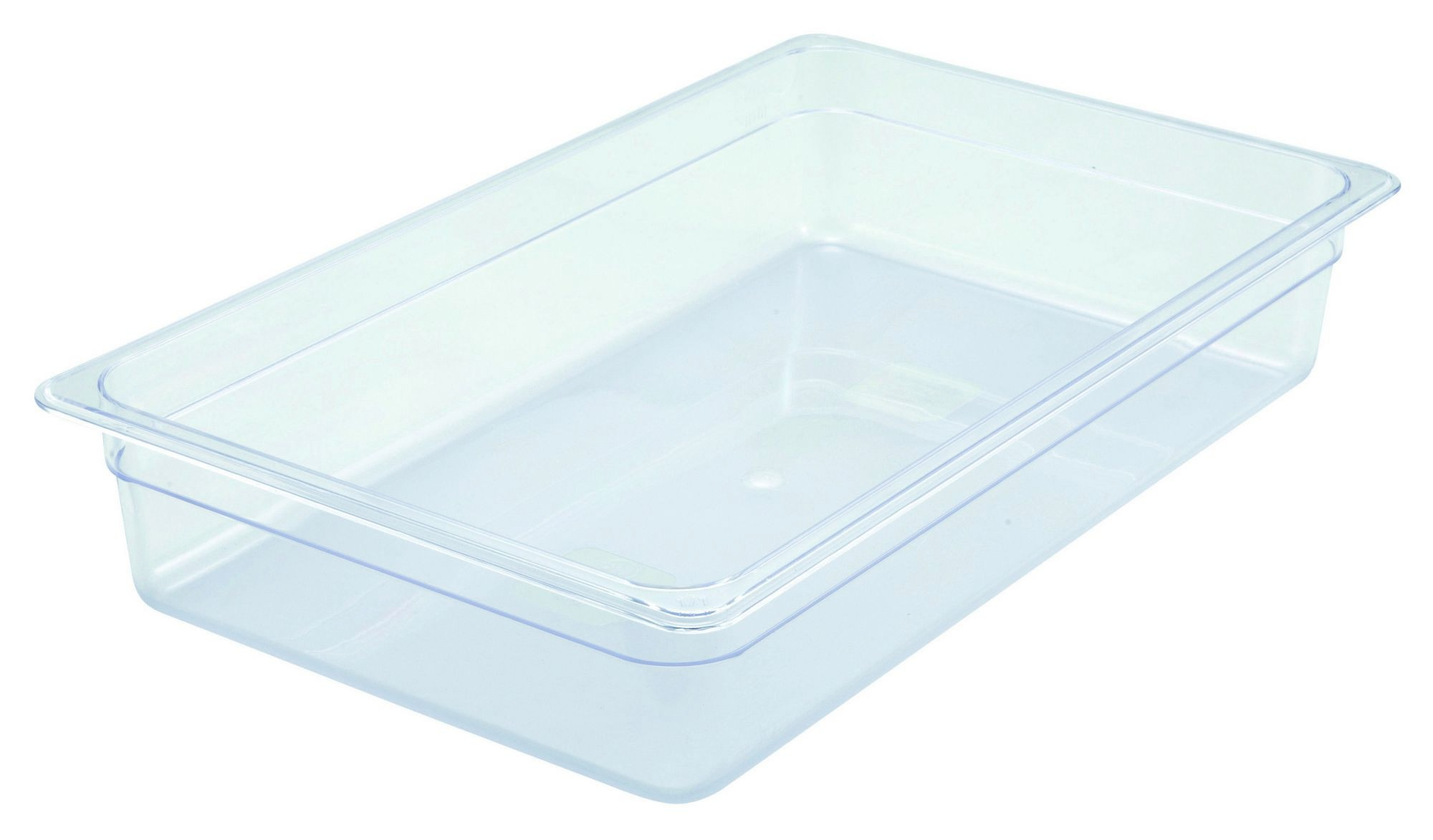 "Winco SP7104 Poly-Ware Full-Size Food Pan 4"" Deep"