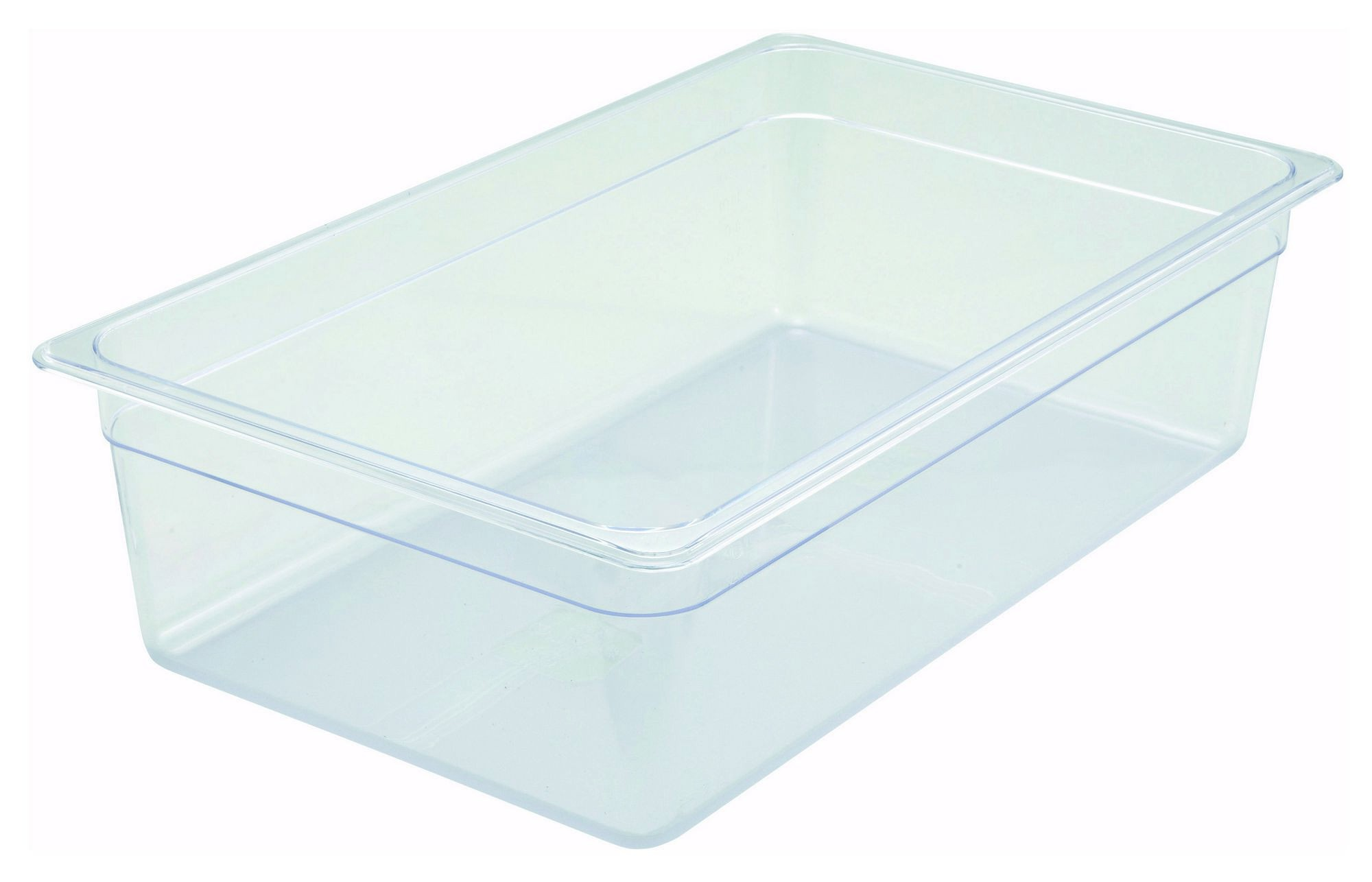 "Winco SP7106 Poly-Ware Full-Size Food Pan 6"" Deep"