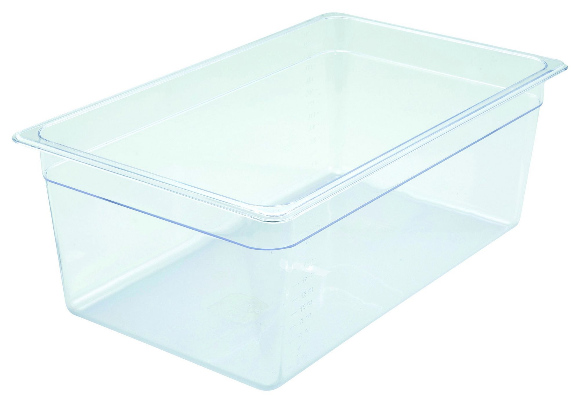 "Winco SP7108 Poly-Ware Full-Size Food Pan 8"" Deep"