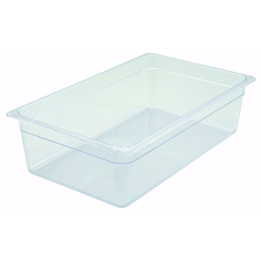 Polycarbonate NSF Full-Size Food Pan - 6 Deep