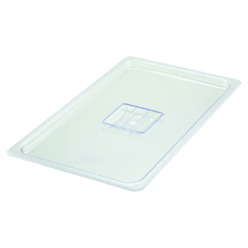 Polycarbonate NSF Full-Size Food Pan Solid Cover