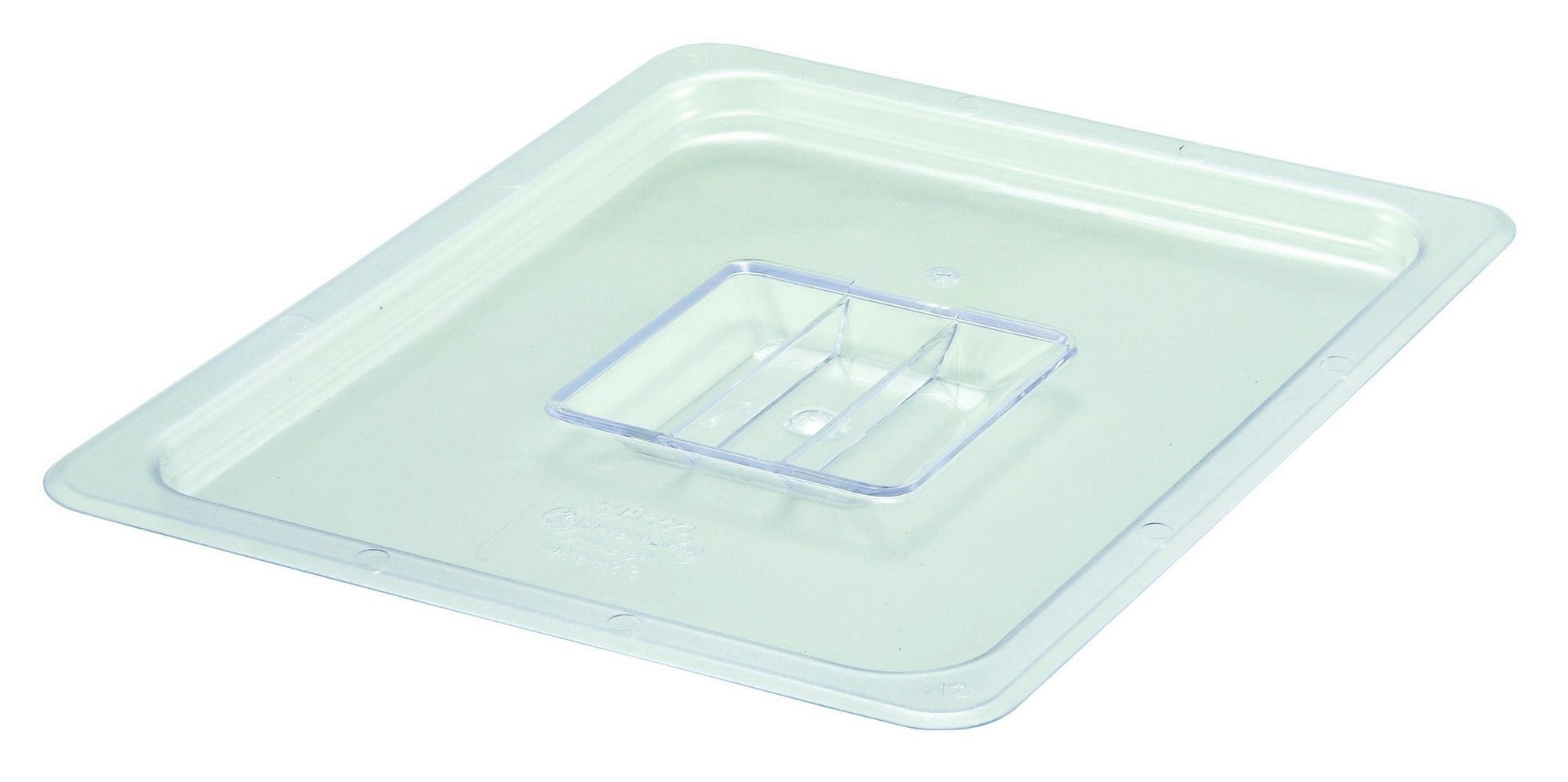 Winco SP7200S Poly-Ware Solid 1/2 Size Food Pan Cover