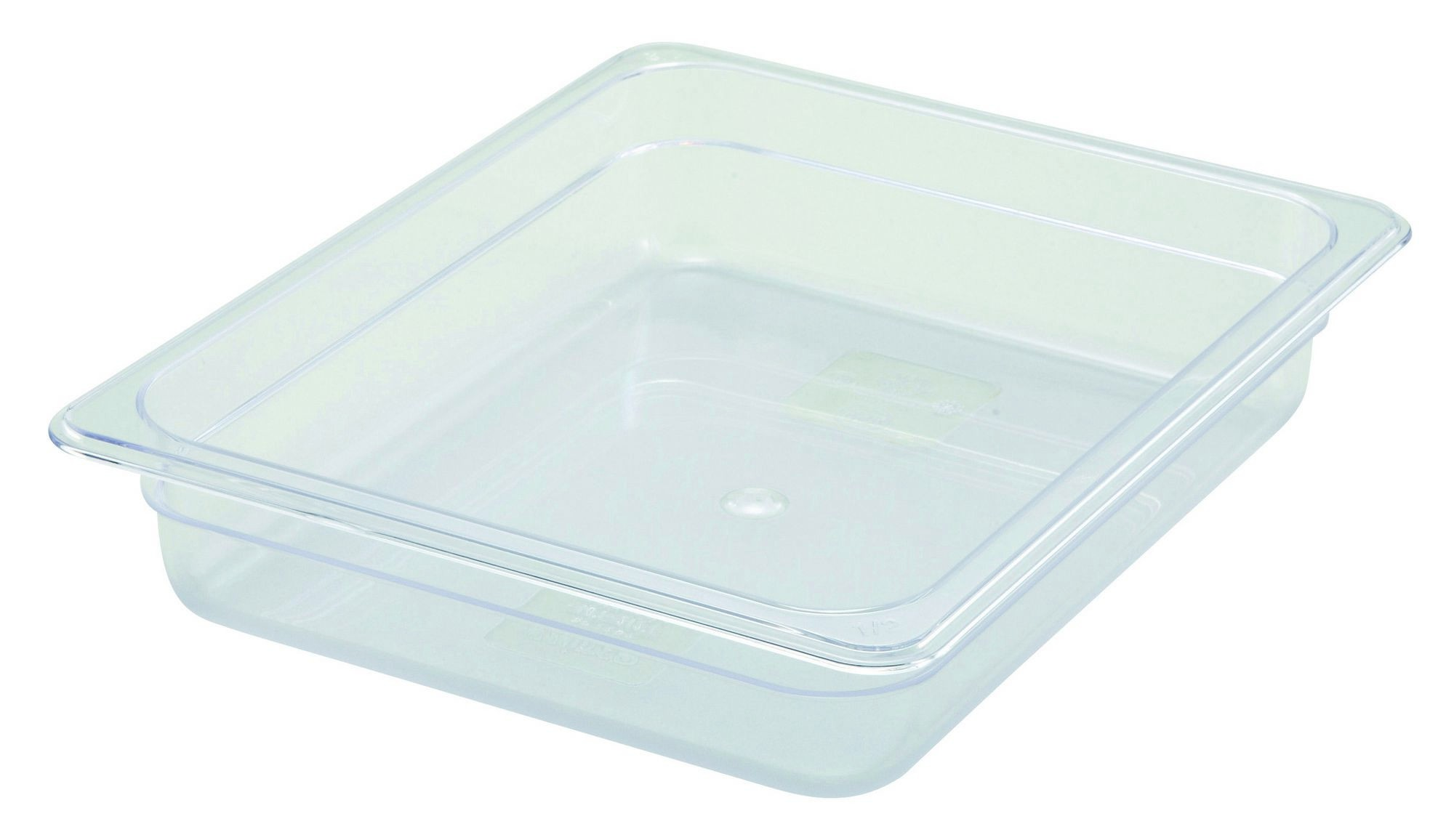 "Winco SP7202 Poly-Ware 1/2 Size Food Pan 2-1/2"" Deep"