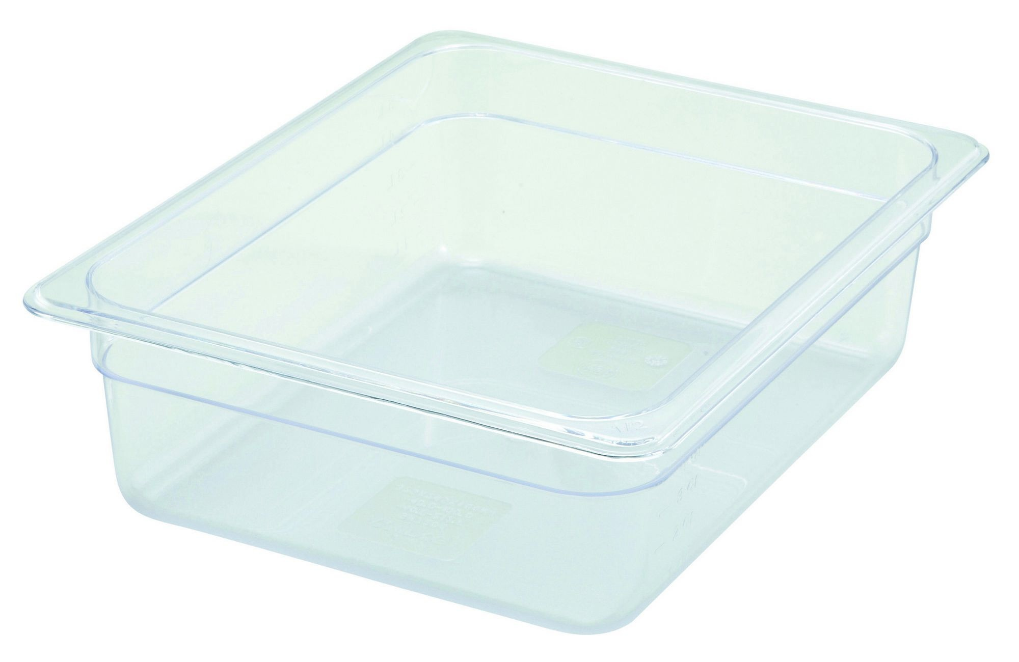 "Winco SP7204 Poly-Ware 1/2 Size Food Pan 4"" Deep"