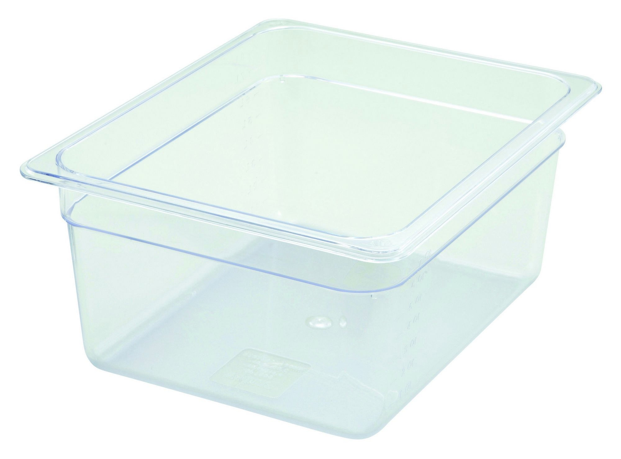 "Winco SP7206 Poly-Ware 1/2 Size Food Pan 6"" Deep"