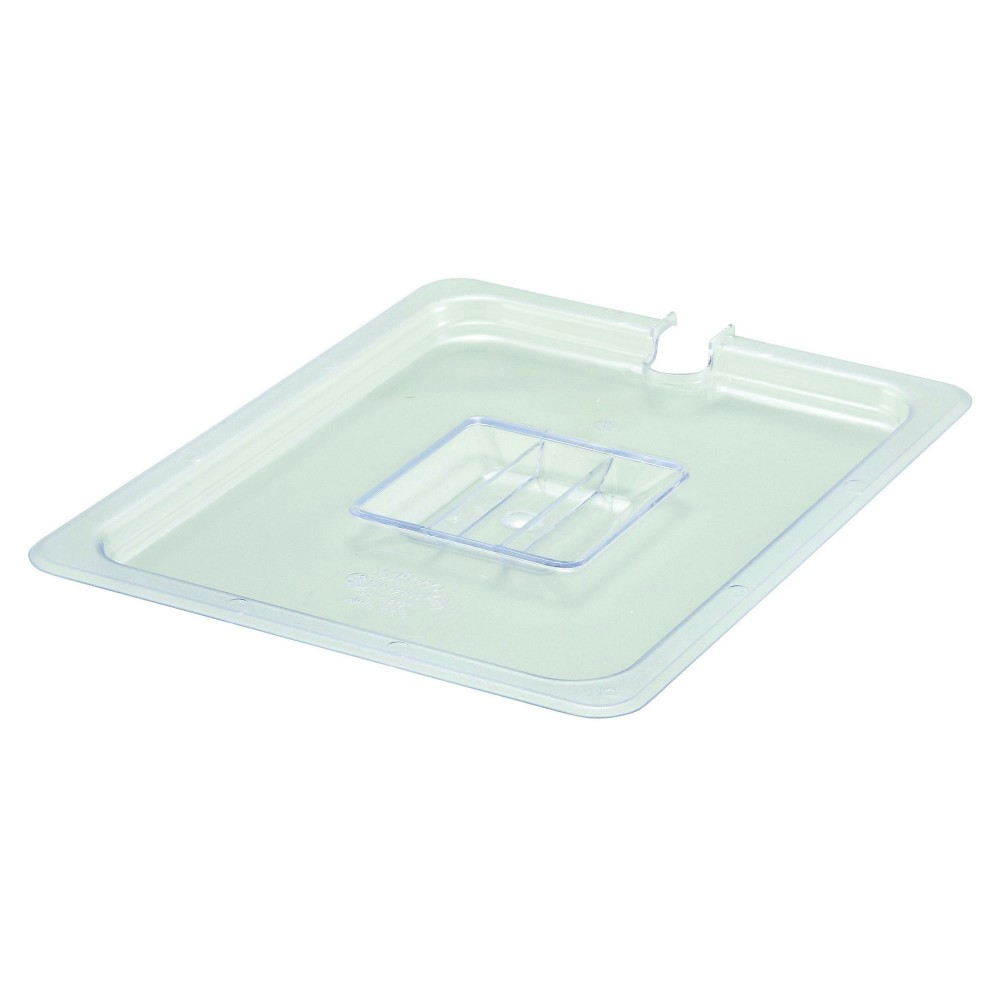 Winco SP7200C Poly-Ware Slotted 1/2 Size Food Pan Cover