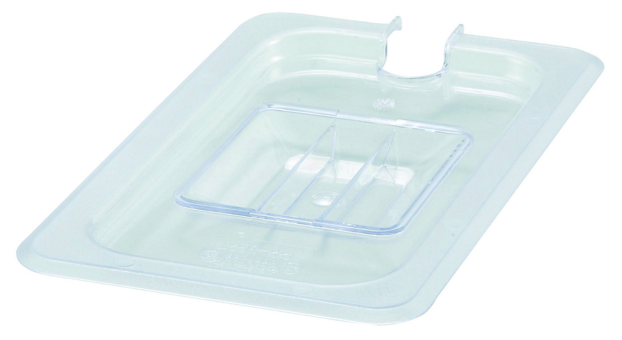 Winco SP7400C Poly-Ware Slotted 1/4 Size Food Pan Cover