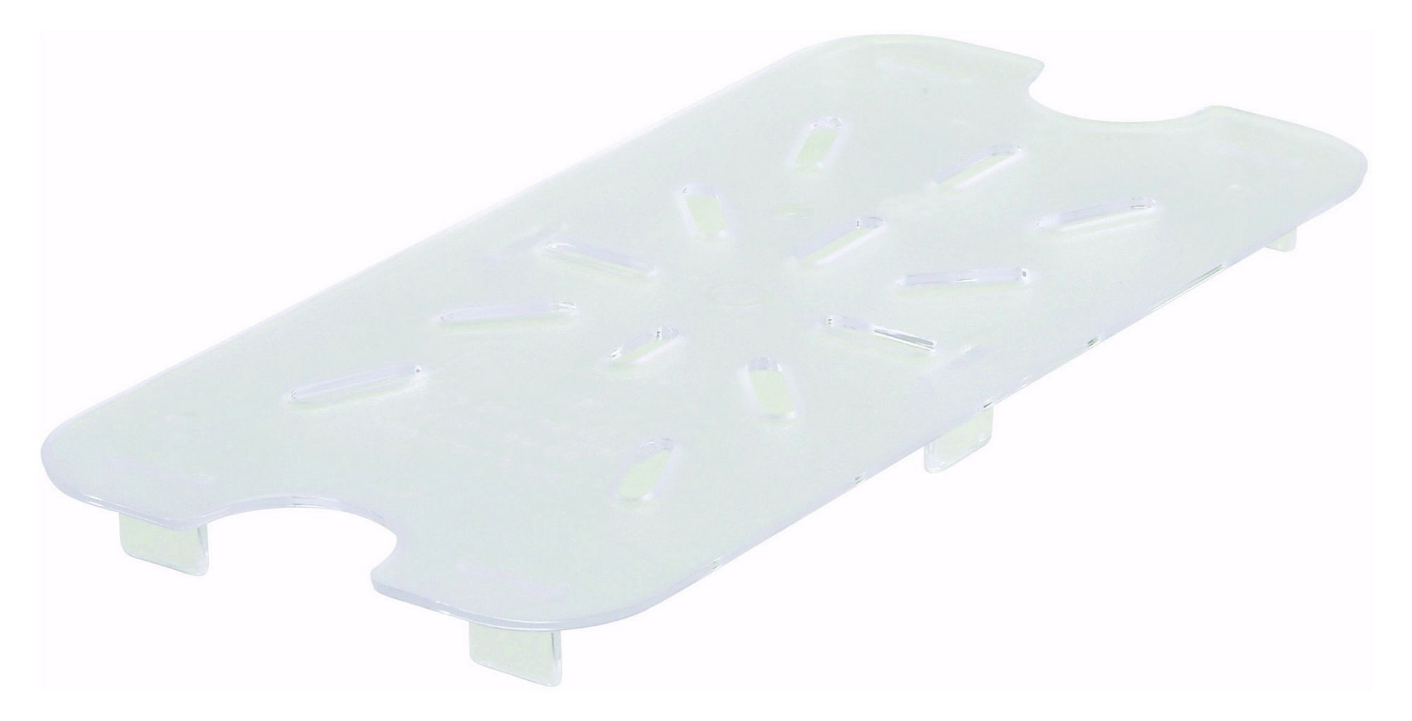 Winco SP74DS Poly-Ware 1/4 Size Drain Shelf