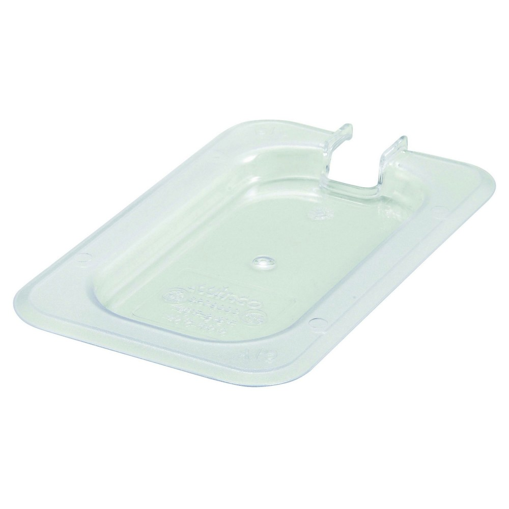 Winco SP7900C Poly-Ware Slotted 1/9 Size Food Pan Cover