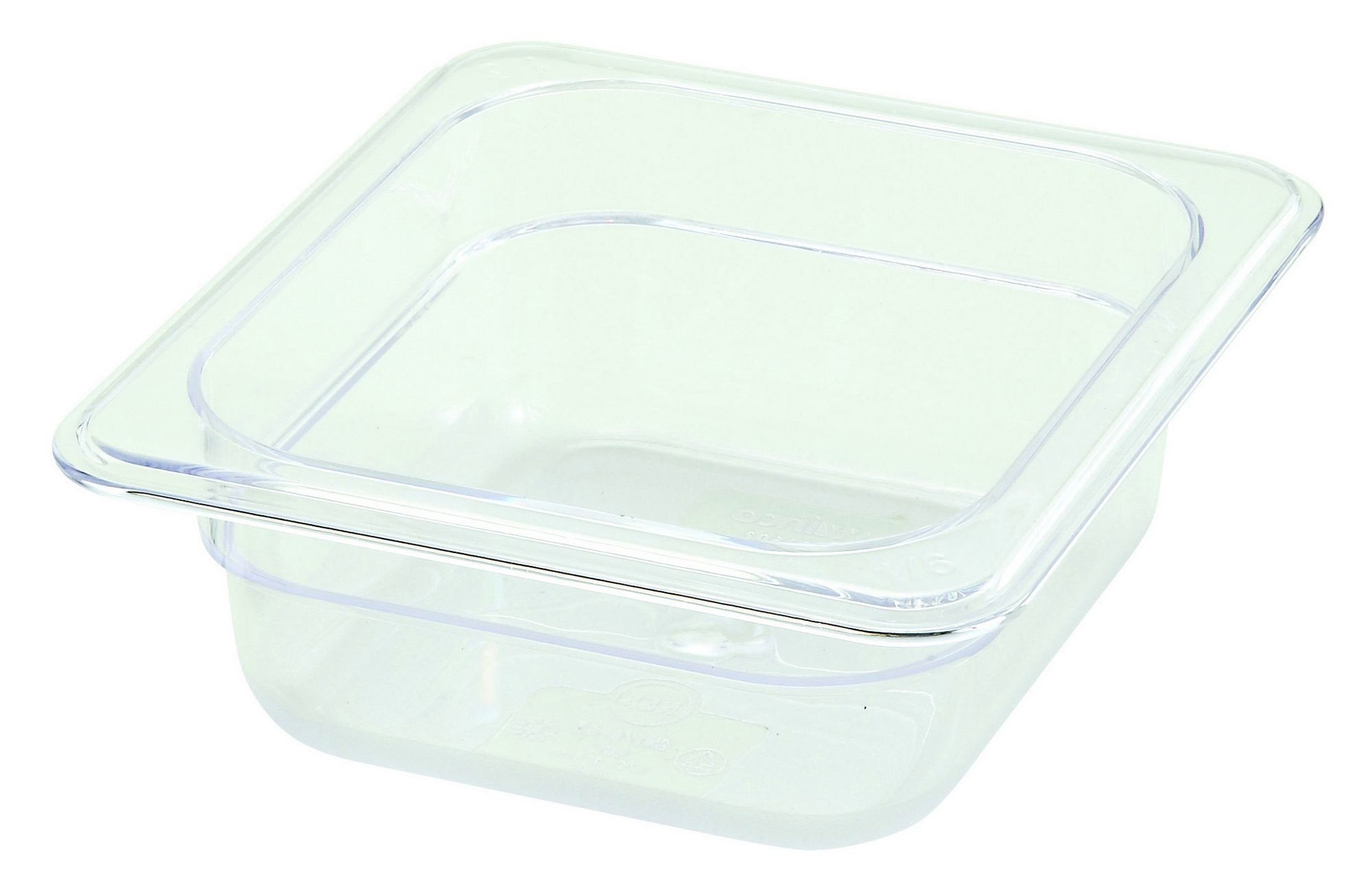 "Winco SP7602 Poly-Ware 1/6 Size Food Pan 2-1/2"" Deep"
