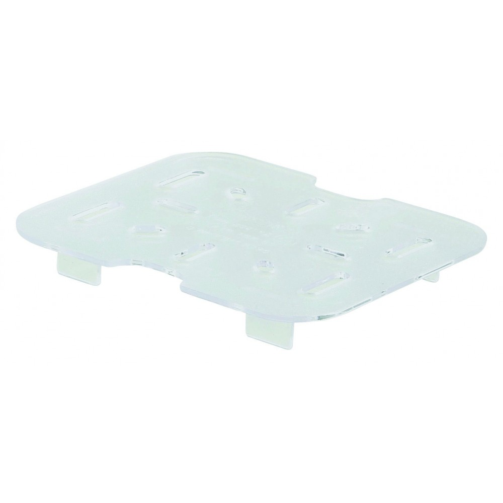 Winco SP76DS Poly-Ware 1/6 Size Drain Shelf