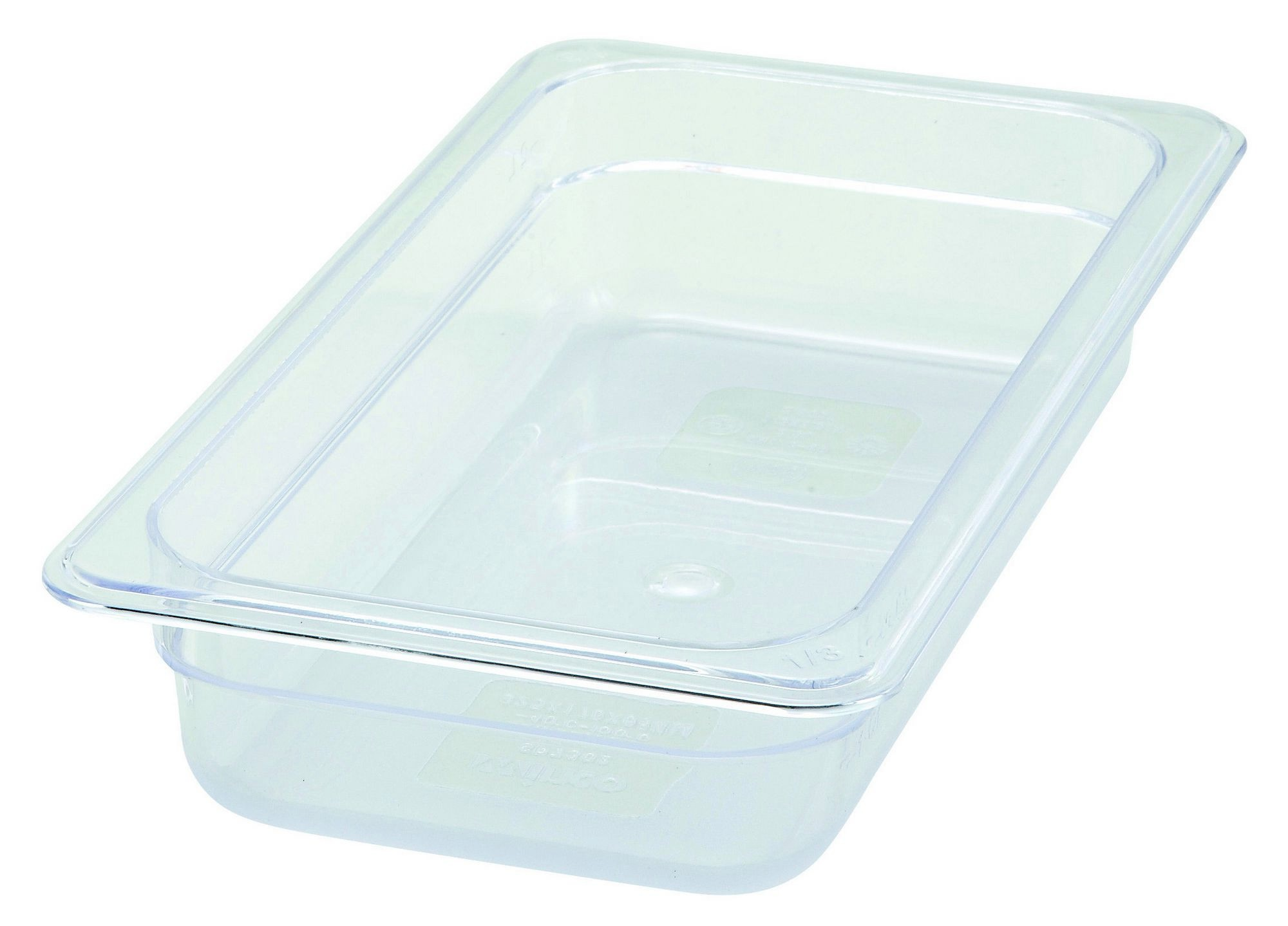 Polycarbonate NSF One-Third Size Food Pan - 2-1/2 Deep