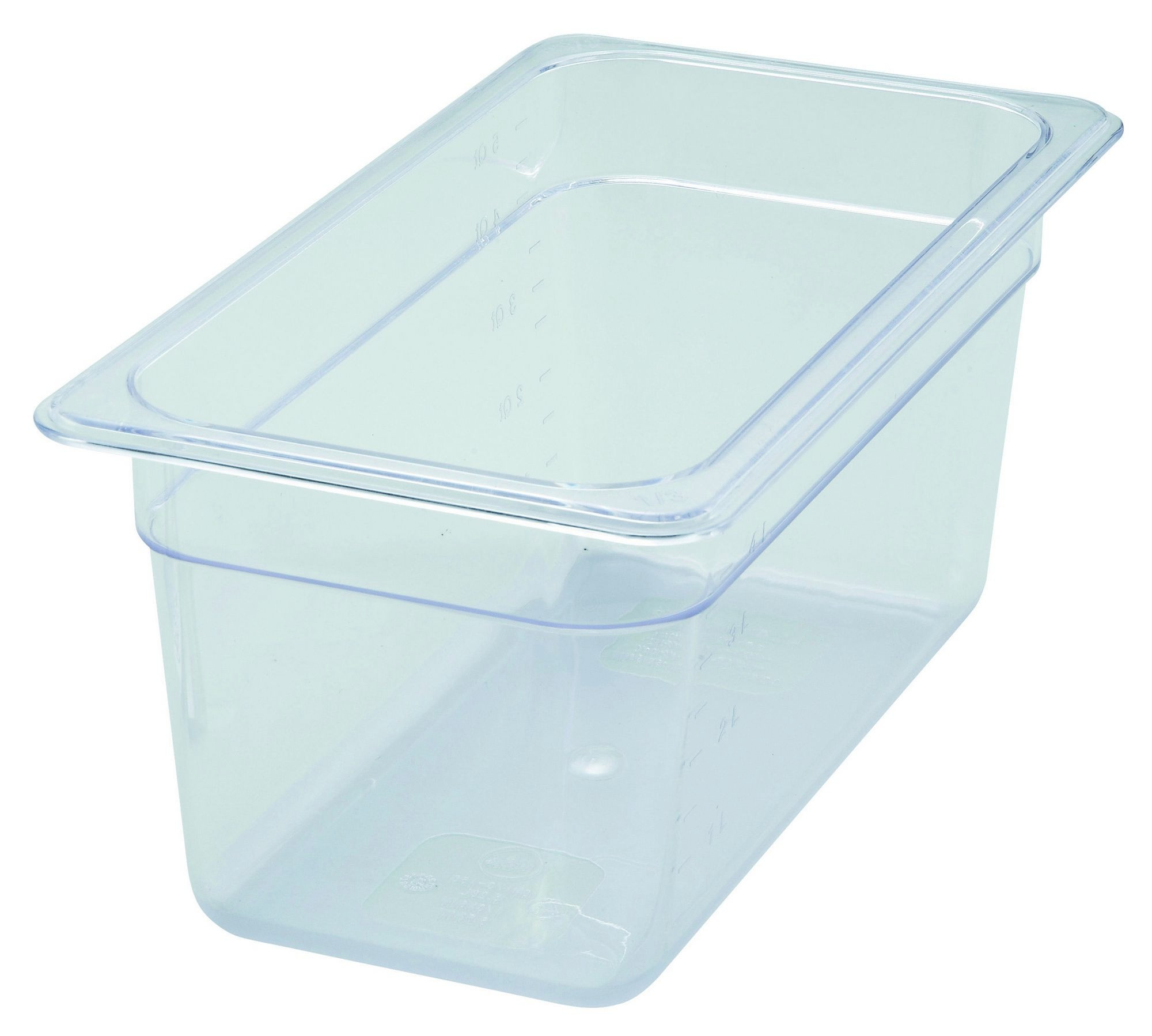 "Winco SP7306 Poly-Ware 1/3 Size Food Pan 6"" Deep"