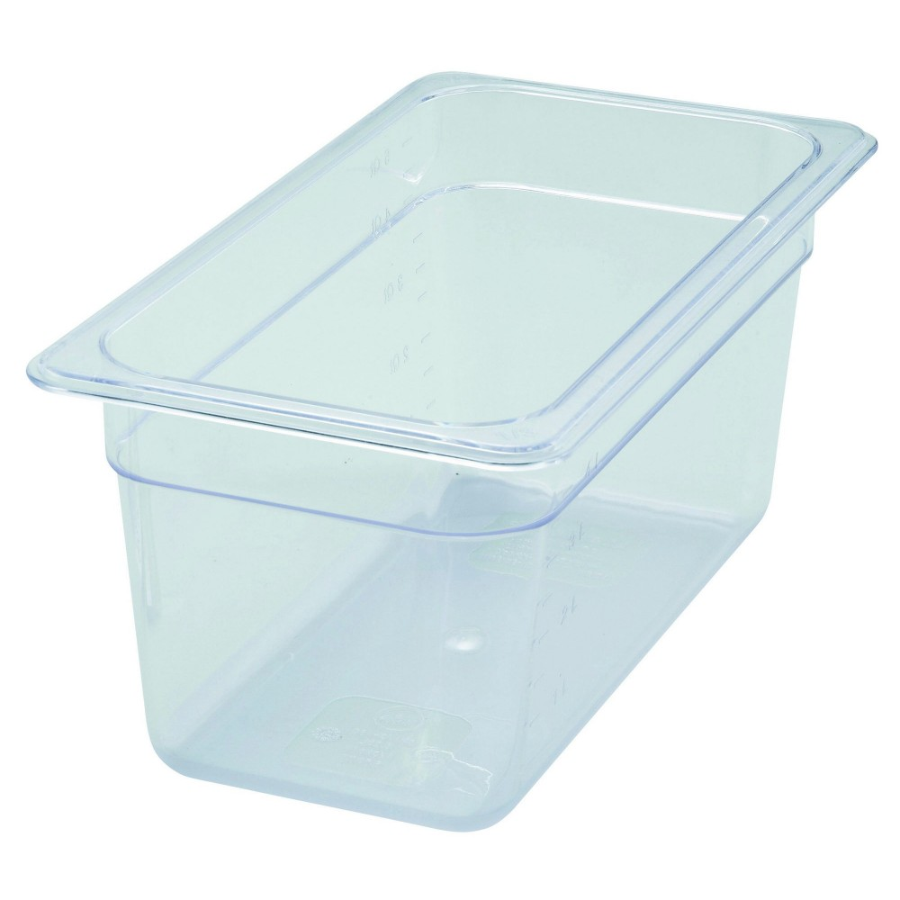 Polycarbonate NSF One-Third Size Food Pan - 6 Deep