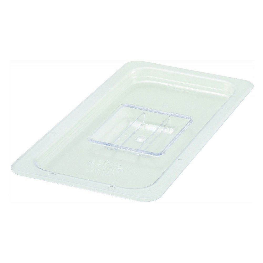 Polycarbonate NSF One-Third Size Food Pan Solid Cover