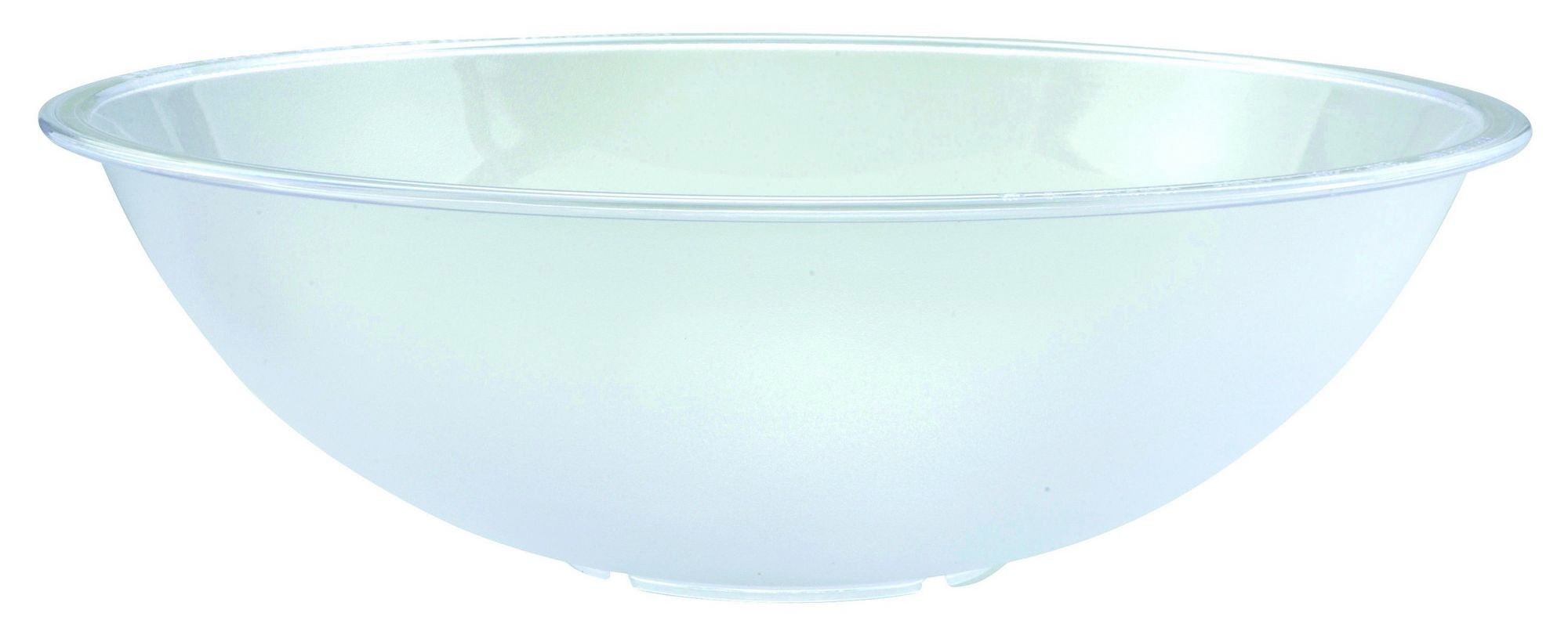 Polycarbonate Pebbled Serving Bowl - 18-7/10