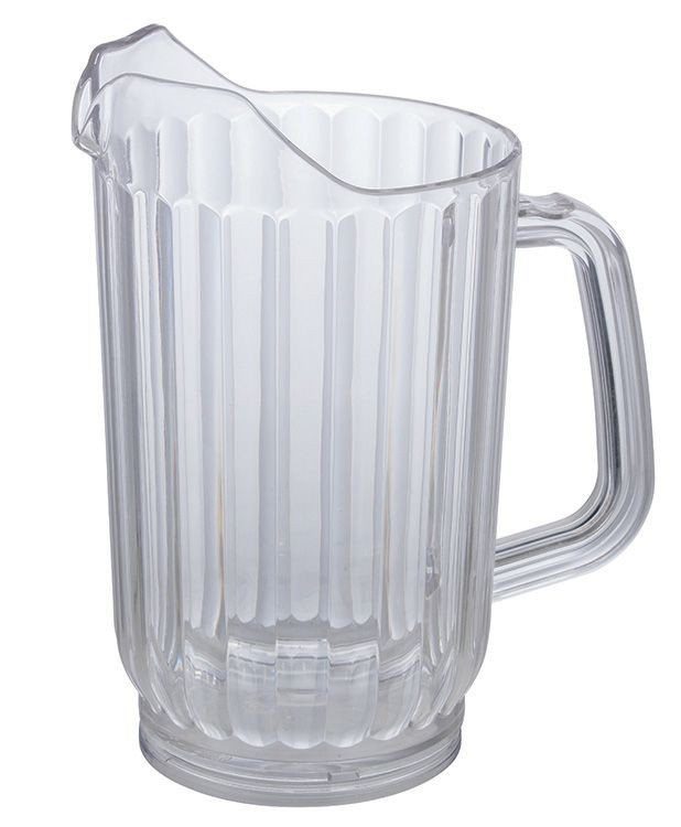 Winco WPC-48 Polycarbonate 48 oz. Water Pitcher