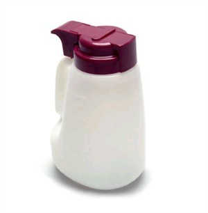 Polyethylene 32 Oz. Liquid Dispenser With Assorted Top