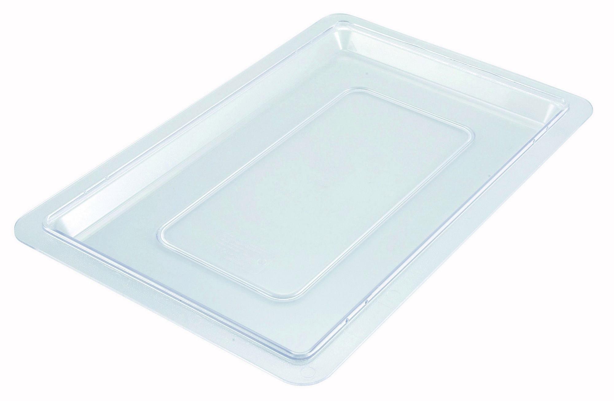"Winco PFSH-C Polyware Cover for Food Storage Box 12"" x 18"""