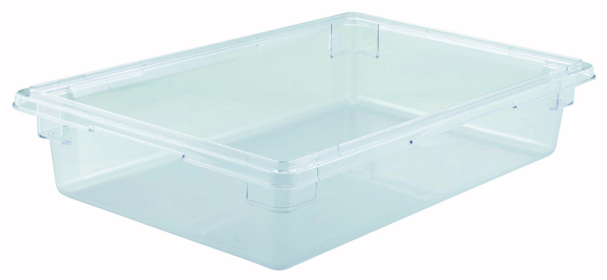 "Winco PFSF-6 Polyware Food Storage Box without Cover, 18"" x 26"" x 6"""