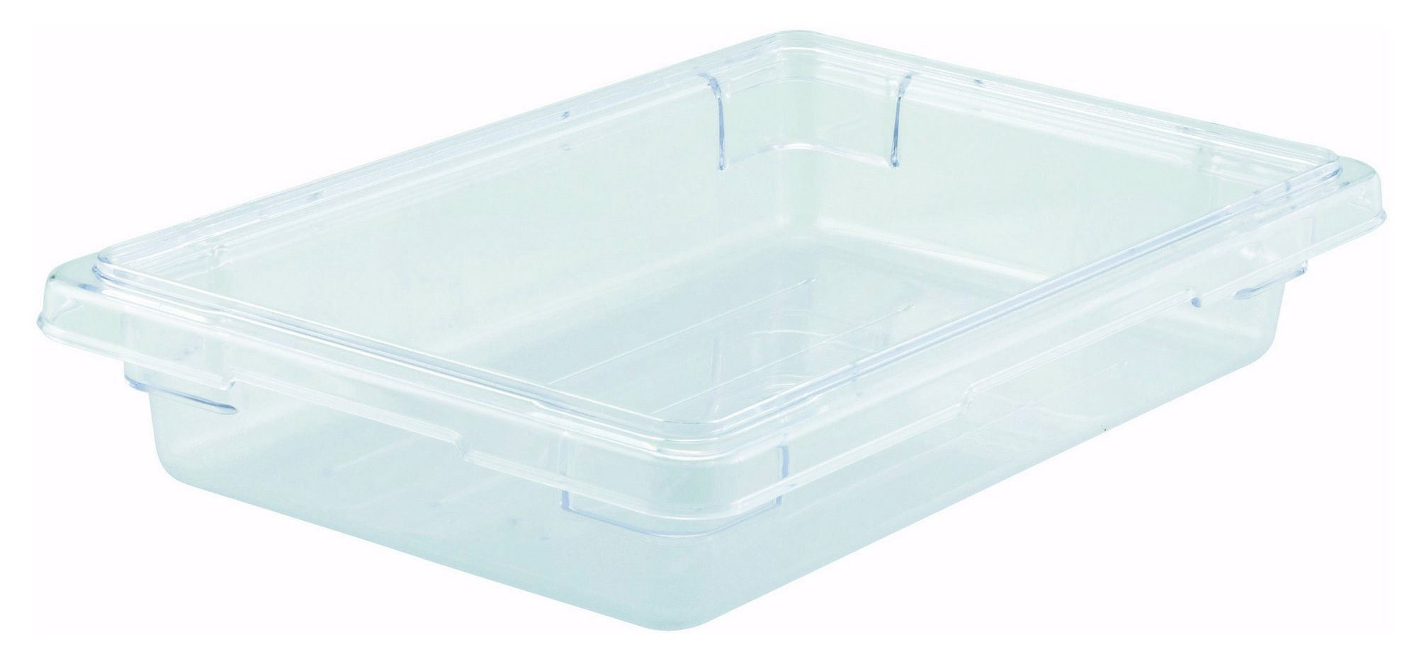 "Winco PFSH-3 Polyware Food Storage Box without Cover 12"" x 18"" x 3-1/2"""