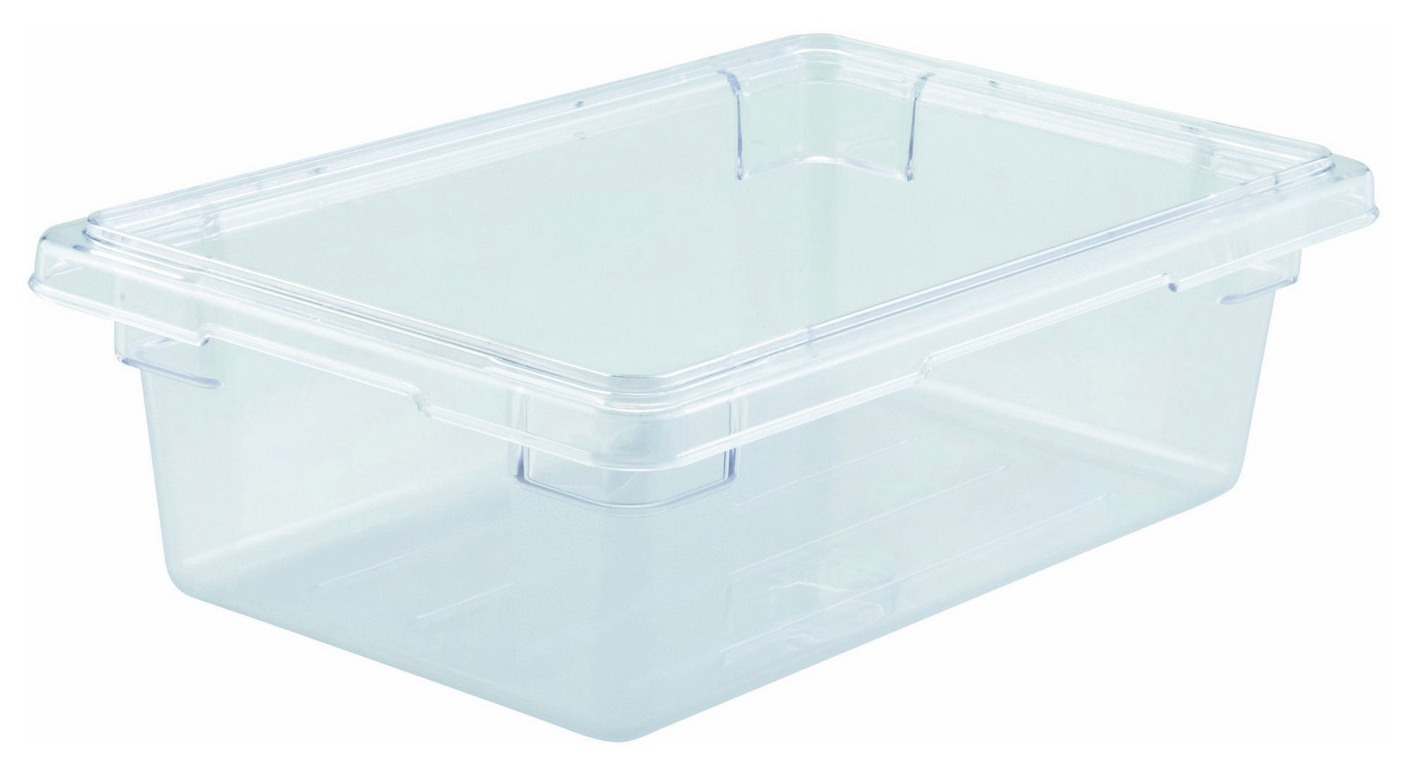 "Winco PFSH-6 Polyware Food Storage Box without Cover 12"" x 18"" x 6"""