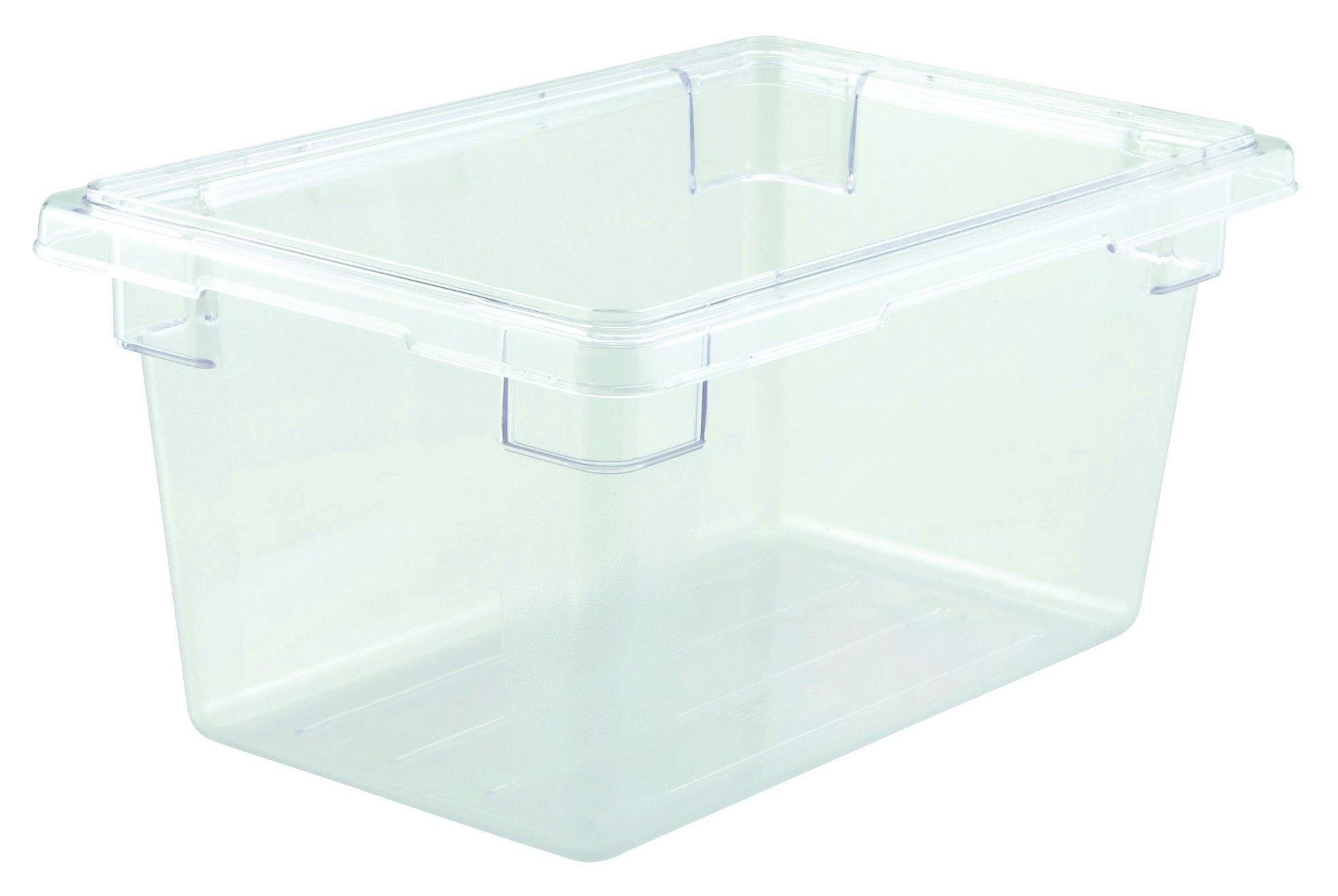 "Winco PFSH-9 Polyware Food Storage Box without Cover 12"" x 18"" x 9"""